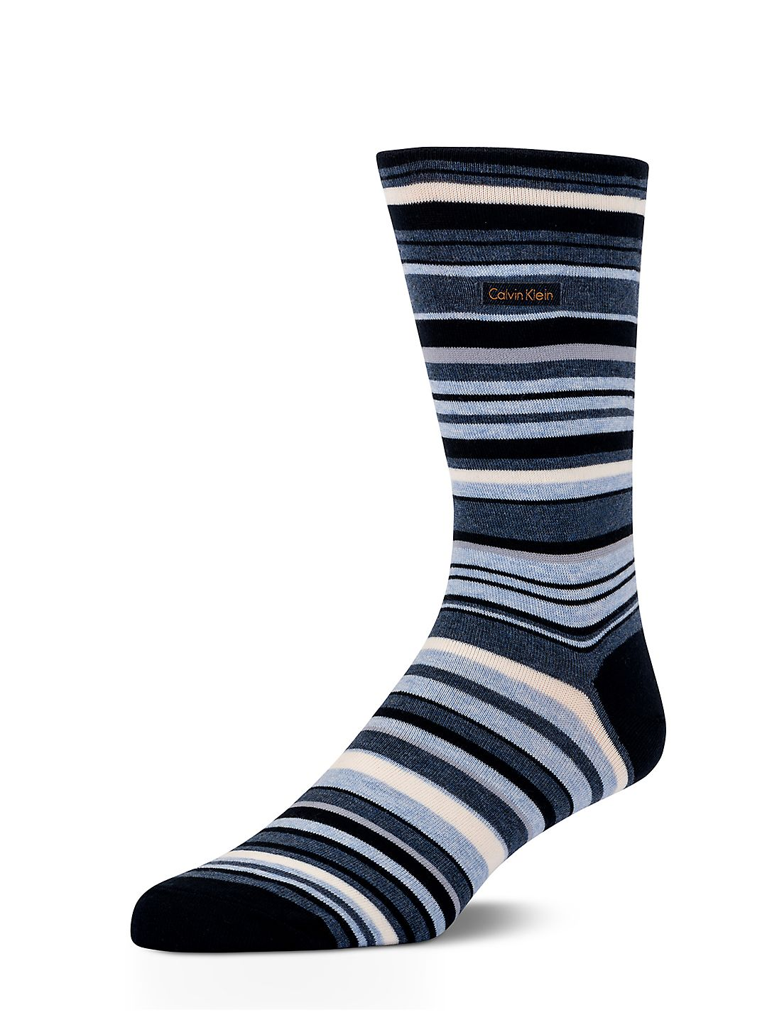 Striped Barcode Sock