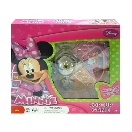 Novelty Character Collectibles Disney Minnie Mouse Bowtique Pop Up Game for $<!---->