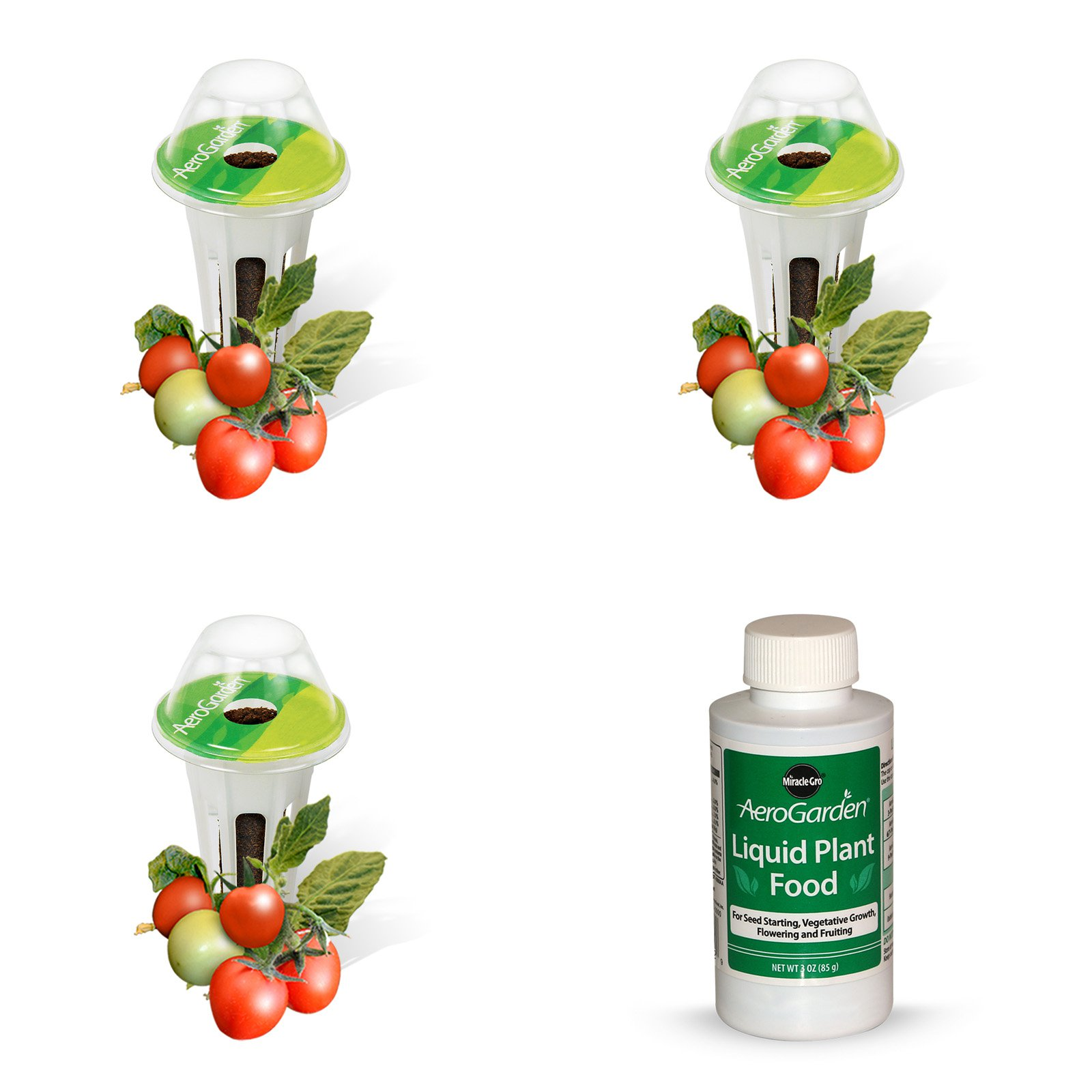 Miracle-Gro AeroGarden Mighty Mini Tomato Seed Pod Kit (3-Pod)