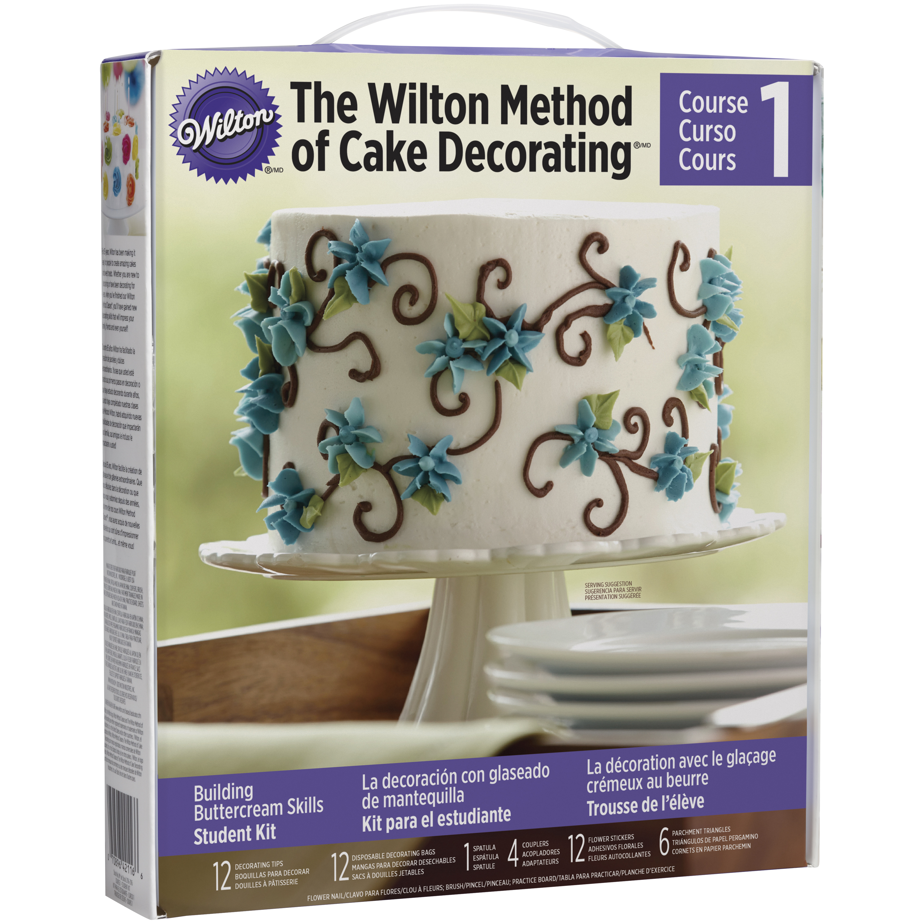 The Wilton Method of Cake Decorating, Course 1-Building Buttercream Skills