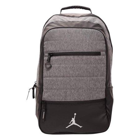 Jordan Bag (Jordan Airborne Jumpman Backpack Black/Gray Carbon/Heather )