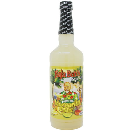 Baja Bob's Sugar-Free Triple Citrus Margarita Mix, 32 fl oz (Margarita Mixer)
