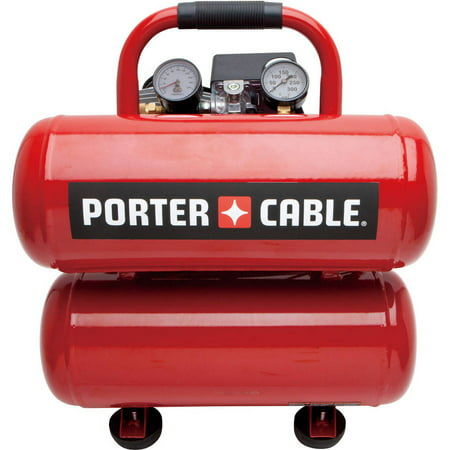 Porter Cable Pcfp02040 4 Gallon Stack Tank Electric Air Compressor