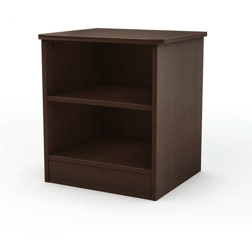 South Shore Smart Basics Open Shelf Nightstand, Multiple Colors
