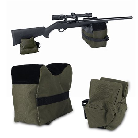 Guy Support (Front and Rear Shooting Rifle Shotgun Support Bench Shooters Gun Rest Bags Army)