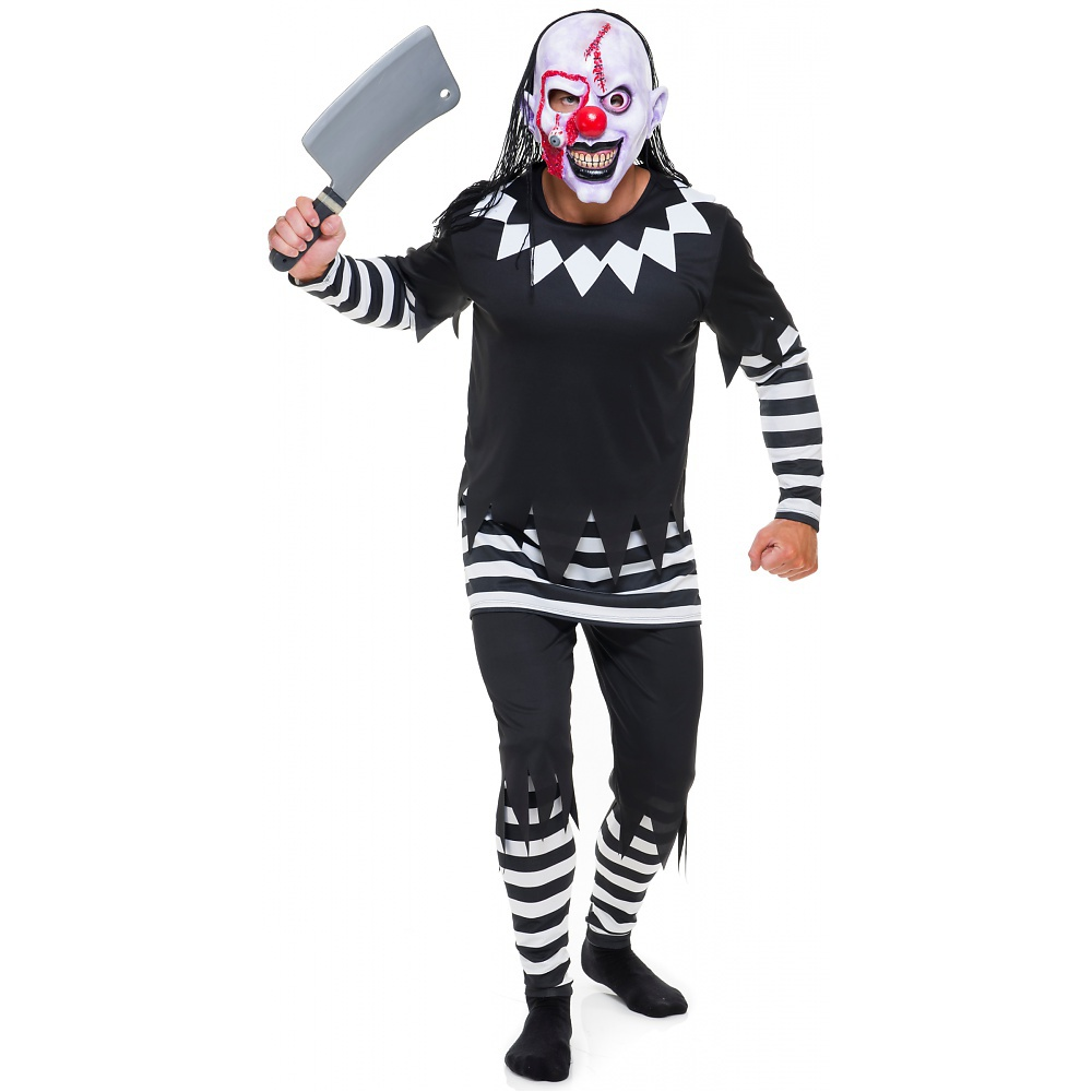 Evil Clown Adult Costume - Small