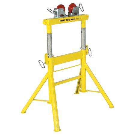 Sumner Pro Roll (Sumner Pro Roll Stands, Steel Wheels, 2,000 lb Cap., 1/2 in-48 in Pipe )
