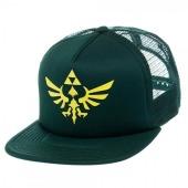 Legend of Zelda Green Triforce Logo Trucker Hat