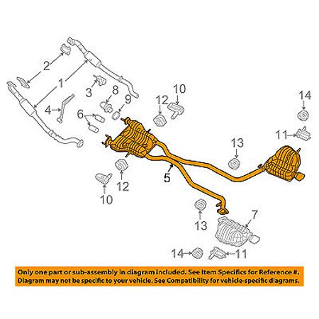 Pleasing Jeep Chrysler Oem Grand Cherokee Exhaust System Muffler Tail Pipe Wiring Cloud Hisonuggs Outletorg