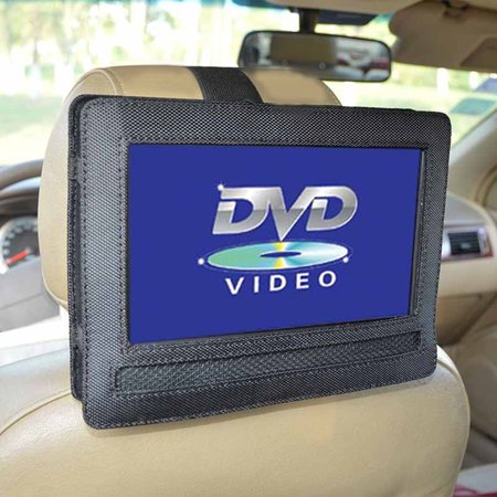 ZeAofa Car Headrest Mount for 9 Inch Swivel Flip Style Portable DVD Player Holder