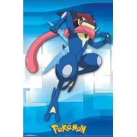 Pokemon - Ash-Greninja Poster Print (22 x 34)
