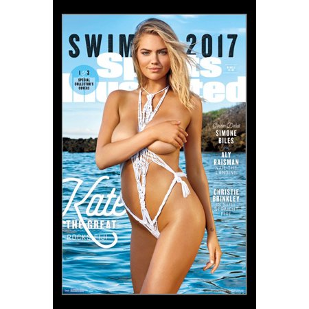 Sports Illustrated Cover Print (Sports Illustrated - Kate Upton Cover #3 2017 Poster)