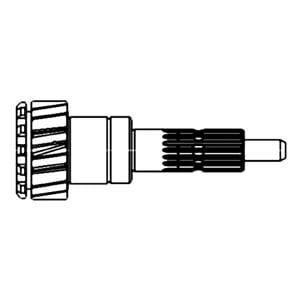 70256571 Input Shaft Transmission Fits Allis Chalmers 180