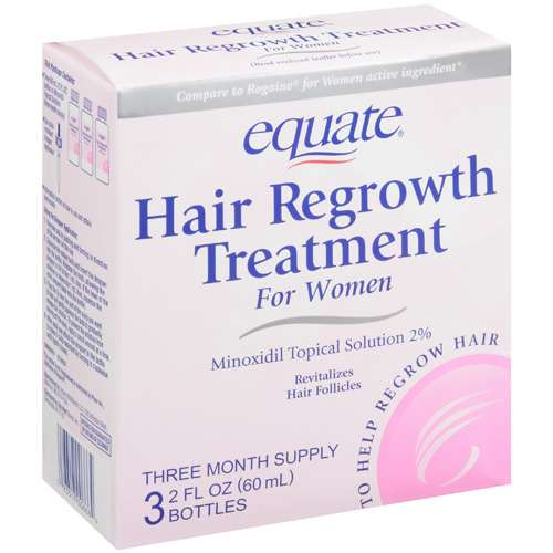 Equate Hair Regrowth Treatment For Women 2 Oz Walmart Com