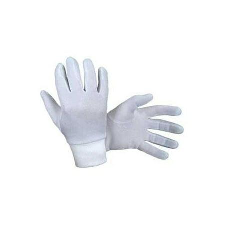 Sports Parts Inc Metallic Womens Glove Liners (White, OSFA)