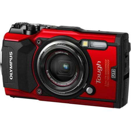 Olympus TG-5 Dig Camera - Red (Olympus High Speed Photo)