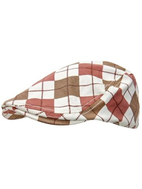Product Image Peter Grimm - United Checkered Driving Cap - Large X-Large -  Brown 4e0f25b06fd6