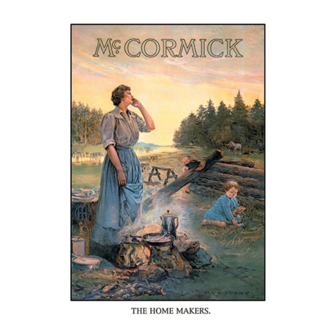 Buy Enlarge 0-587-15048-3C12X18 McCormick - The Home Makers- Canvas Size C12X18