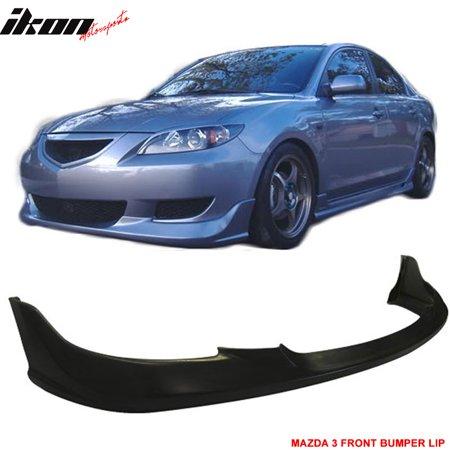 Fits 04-06 Mazda 3 Type-I Urethane Front Bumper Lip Spoiler PU Body Kit