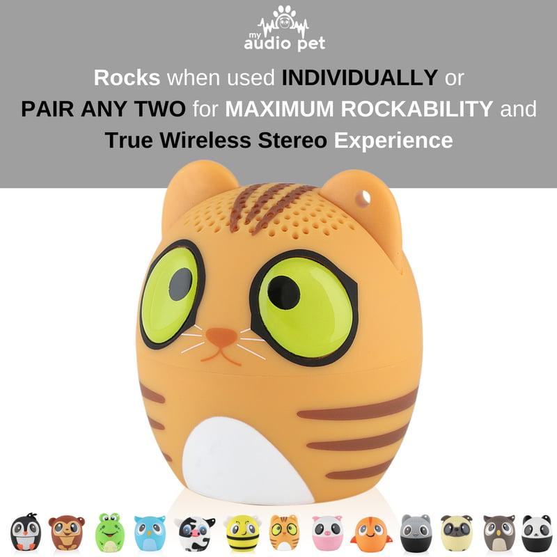 My Audio Pet Unicorn Mini Bluetooth Animal Wireless Speaker Toy for Girls...