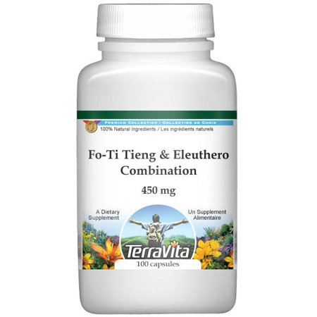 Fo-Ti Tieng and Eleuthero Combination - 450 mg (100 capsules, ZIN: