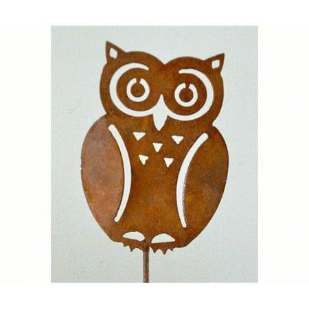 Elegant Garden Design ELEGANTP401 Owl Pick (set of 3)
