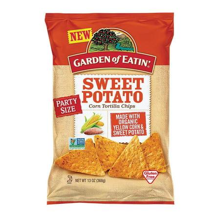 Garden Of Eatin' Tortilla Chips - Sweet Potato - Pack of 12 - 13 Oz.