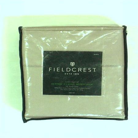 Fieldcrest Supima Classic Hemstitch Sheet Set 700 Thread Count - Orchid (Fieldcrest Luxury Sheet Set)