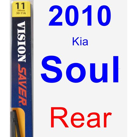 2010 Kia Soul Rear Wiper Blade - Rear