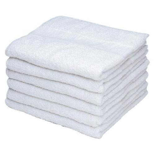 "GHP 4-Pcs Solid White 24""x50"" Heavy Duty 100% Cotton Blend Hotel/Home Bath Towels"