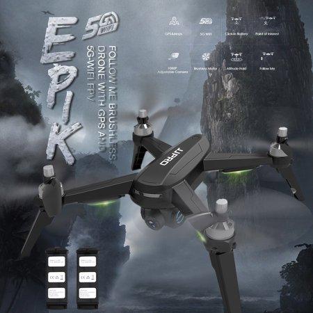 JJR/C JJPRO X5 EPIK GPS RC Drone with Camera 1080P 5G Wifi Suitcase Handbag Brushless Motor with 2