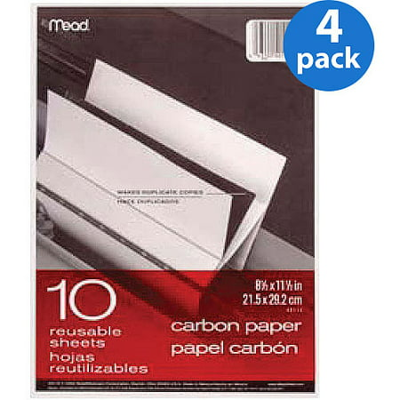 (4 Pack) Mead Copy & Multipurpose Paper, White, 10 / Pack (Quantity) ()