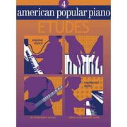 American Popular Piano: Etudes, Level Four