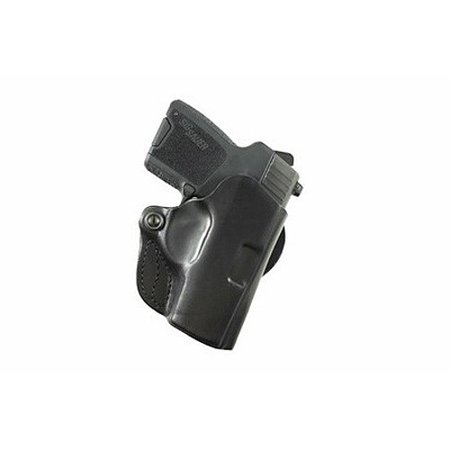 DeSantis Right Hand Black Mini Scabbard Holster, Walther PPK,