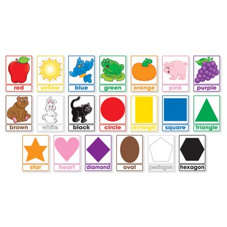 Colors and Shapes Bulletin Board Set