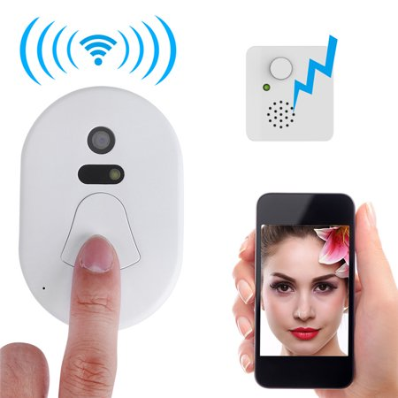 Yosoo Smart 2.4G RF Wireless Ring Doorbell WiFi Visual Camera Phone Anti-theft Alarm Home Security - image 8 de 8