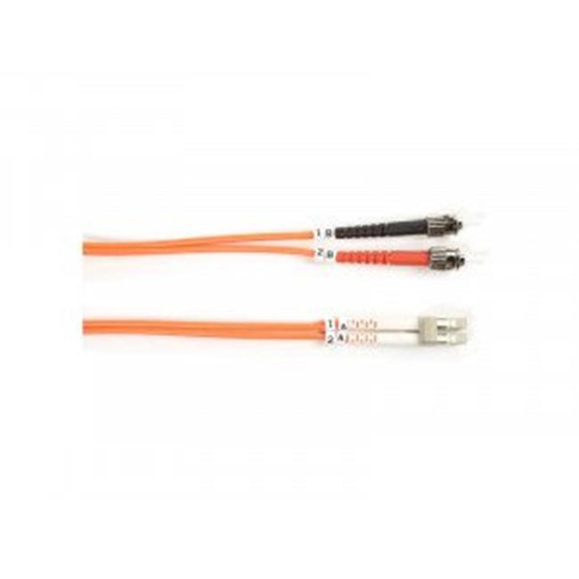 Black Box Network Services FO625-005M-STLC 5 m 62.5 ST to LC Fiber Patch Cable, Orange - image 1 de 1