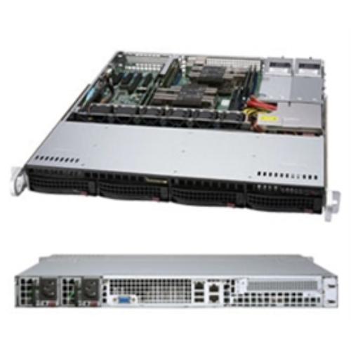 Supermicro SuperServer 6019P-MTR Barebone System - 1U Rack-mountable - Intel C621 Chipset - Socket P LGA-3647 - 2 x Processor Support - Black (214034)