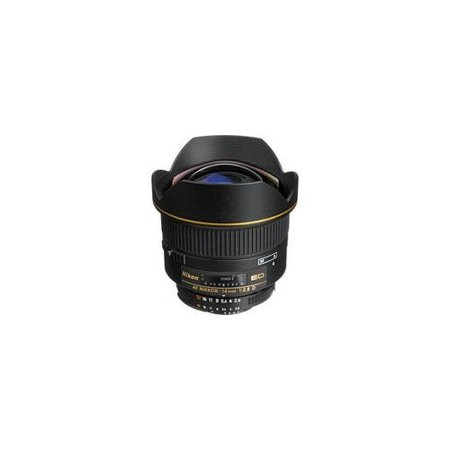 Nikon AF FX NIKKOR 14mm f/2.8D ED Ultra Wide Angle Fixed Zoom Lens with Auto Focus for Nikon DSLR Cameras International Version (No