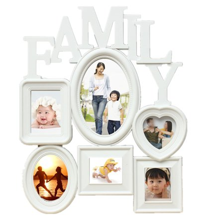 Wall Collage Family Picture Photo Frame Holder Wall Table Display Home Bedroom Decor 12x14.5""
