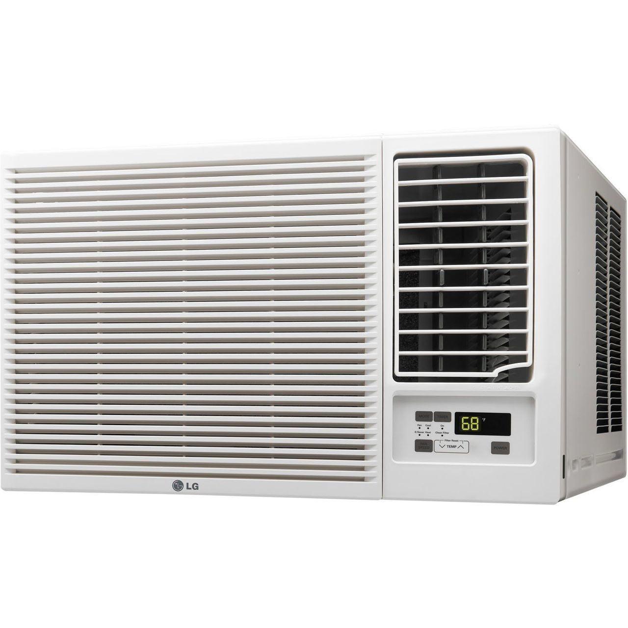 LG 18,000 BTU 230/208-Volt Window Air Conditioner with Co...