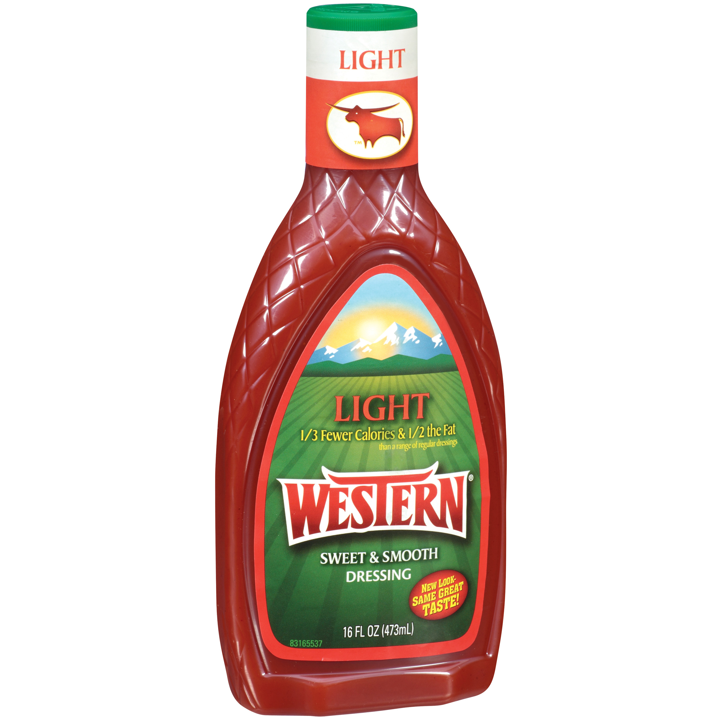 Western Light Salad Dressing 16 Oz Plastic Bottle