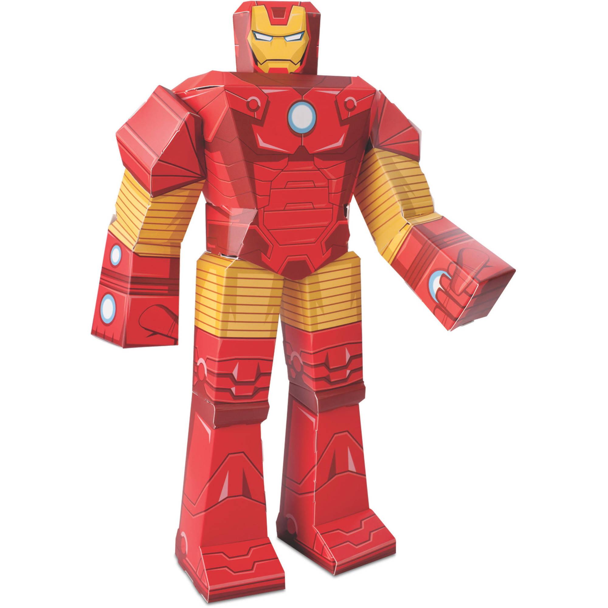 Iron man blueprint papercraft 12 inch figure walmart malvernweather Gallery