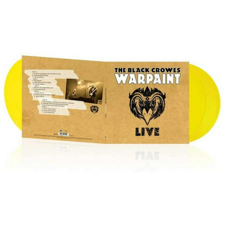 Warpaint Live (Vinyl) (The Black Crowes Live At The Greek)