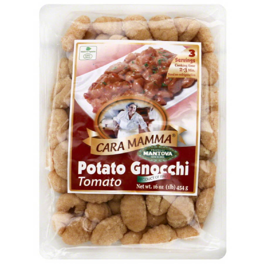 Cara Mamma Tomato Potato Gnocchi Pasta, 16 oz, (Pack of 12)