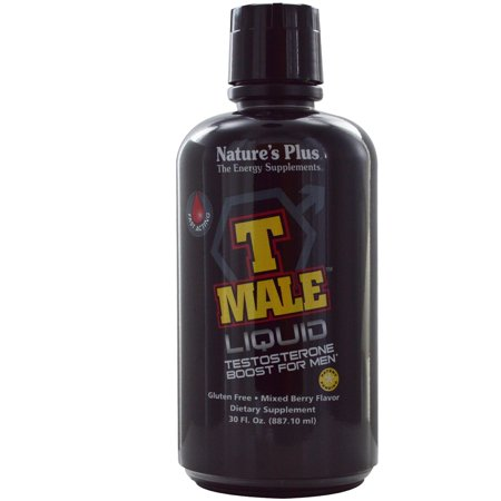 Nature's Plus T-Male Testosterone Fast Acting Liquid 30 Oz Brand New &