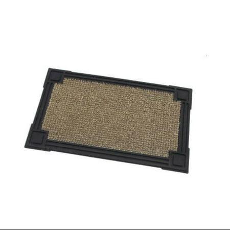 Grassworx 10302039 Capitol Door Mat 18x30 Taupe Cap Door