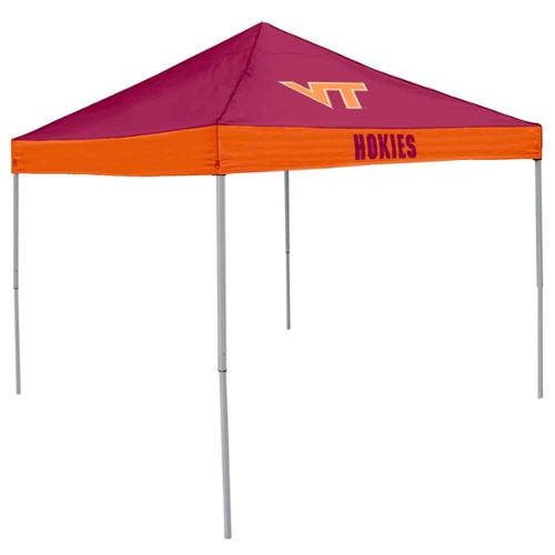 Logo Chair NCAA Virginia Tech 9' x 9' Economy Tent, Sleeps 4