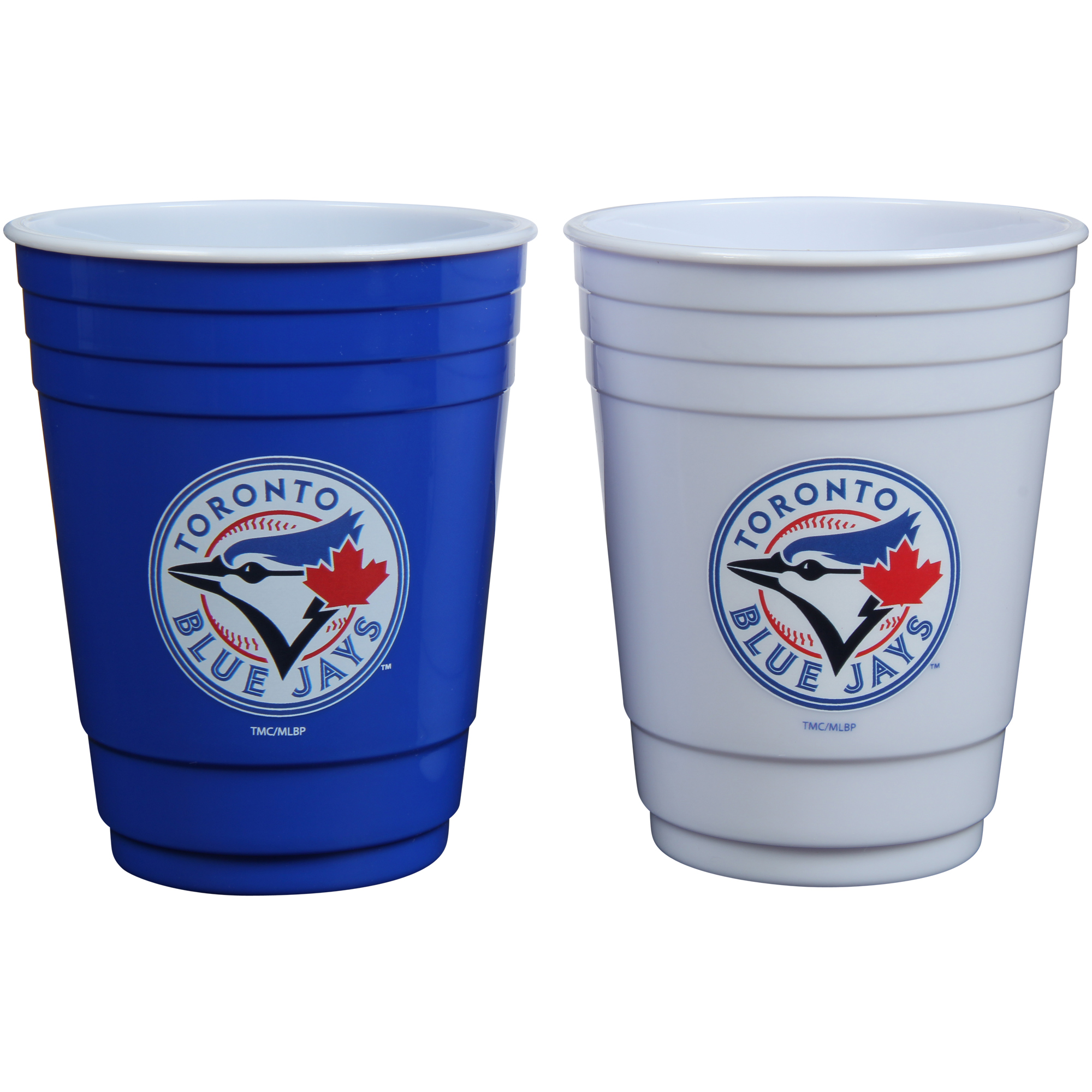 Toronto Blue Jays Two-Pack Home And Away Plastic Cup - No Size