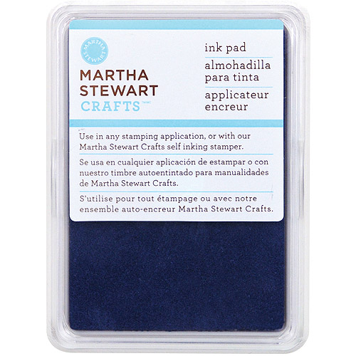 Martha Stewart  Ink Pad-Nautical Blue